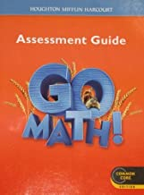 Go Math!: Assessment Guide, Grade 2, Common Core Edition by HOUGHTON MIFFLIN HARCOURT (2011-07-25)