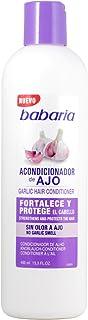 Babaria Acondicionador Capilar de Ajo Fortalecedor - 400 ml Blanco (8410412021050)