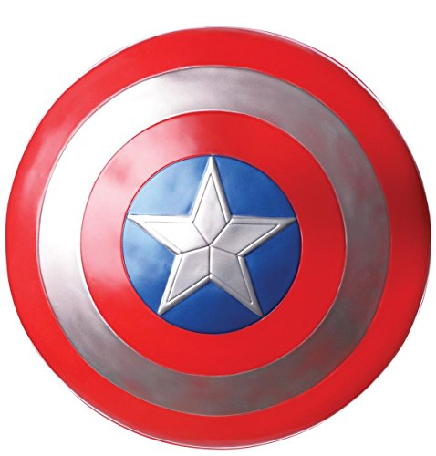 Close Up Captain America Retro Schild, aus Kunststoff, ca. 60cm Durchmesser