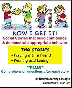 Social Story - Playing with a Friend and Winning & Losing  Now I Get it! Social Stories