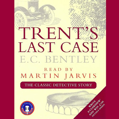 Trent's Last Case audiobook cover art