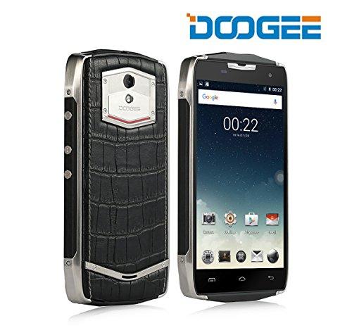 IP67 Telefono impermeabile, Doogee T5 Lite Rugged Smartphone - GSM + WCDMA FDD + Android 6.0 - Duro esterno mobile con 4500mAh batteria - 2 GB di RAM + 16GB ROM - 5MP + 8MP Telecamere - doppio Aspetto