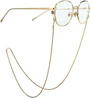 8ea635b4fe Cadenas y Cordones para Mujer,Gafas Cadenas Gafas de Lectura Metal Gafas  Cadena Eyewears Cable