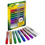 CRAYOLA- Set 9 Pegamento-Purpurina 19x14, Multicolor, 3.1 oz (69-3527)