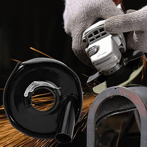 Cubierta antipolvo para corte de superficies, accesorios para amoladoras angulares prácticas profesionales Durablre, hogar de aluminio de 5 pulgadas para uso profesional de Bosch Makita