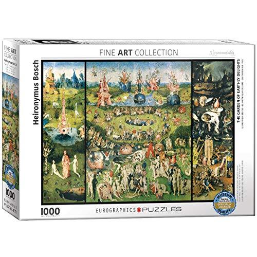 EuroGraphics 'Hieronymus Bosch Trittico del Giardino delle delizie, Trittico Puzzle (1000-Piece, Multi-Colour)