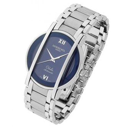 Raymond Weil Othello 2285065Automatik Uhr Stahl Quandrante blau Armband Stahl