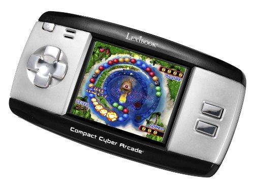 Lexibook jl2375Compact Cyber Arcade Pocket Spielekonsole–250Spiele (schwarz und grau)