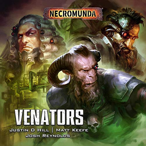 Venators audiobook cover art