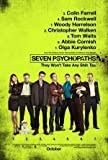 Seven LAYCHOPATHS - Colin Farrell – Movie Wall Art Poster