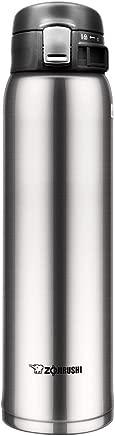 Zojirushi SM-SD60XA One Touch Flip-Open Mug, 0.60 L, Stainless