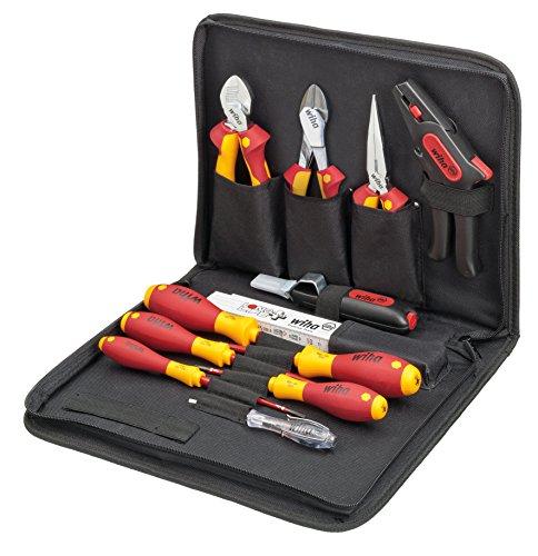 Wiha Werkzeug Set Elektriker gemischt 12-tlg. in Tasche (36389)
