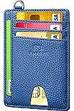 FurArt Slim Minimalist Wallet, Front Pocket Wallets, RFID Blocking, Credit Card Holder for Women&Men