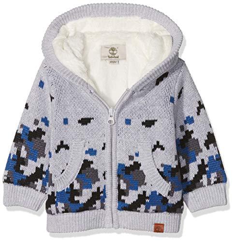 Timberland Cardigan Tricot, Chaleco de traje para Bebé-Niños