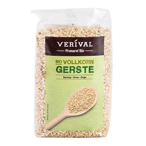 Verival Gerste - Bio, 6er Pack (6 x 500 g Beutel) - Bio