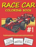 Race Car Coloring Book: Let's Fun Racing Car Design for Children, Sport Racing Cars for Boys of All Ages (Kids Coloring Books)
