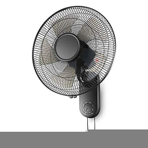 Lcxligang Pared Fan Ventilador eléctrico montado en la Pared del hogar de Pared mecánico montado en la Pared en Movimiento Ventilador del disipador de Calor Industria Cabeza Restaurante