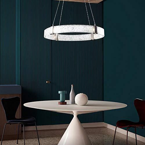 Warm Home creatieve persoonlijkheid woonkamer kandelaar van brons glas lamp smeedijzer studiovorm cirkel verlichting grootte Villa 60 x 60 x 11 cm aangenaam