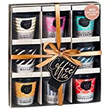Travel Coffee Takeout Cups Gift Set, 9 Coffee Flavours Including Irish Cream, Vanilla and Salted Caramel