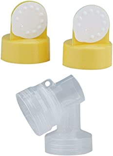 Medela PersonalFit Breastshield Connectors WITH Valves & Membranes in non retail packaging
