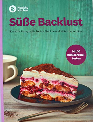 Süße Backlust Kochbuch von Weight Watchers