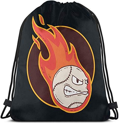 Shui Baseball Drawstring Rucksack Rucksack Umhängetaschen Sporttasche