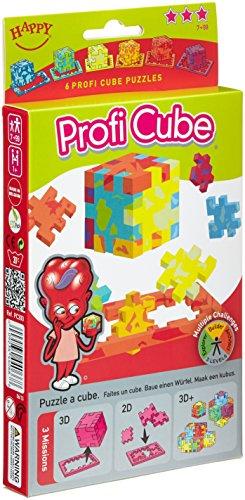 Happy - Pc300/1 - Casse-tête - Cubes En Mousse - Pack De 6