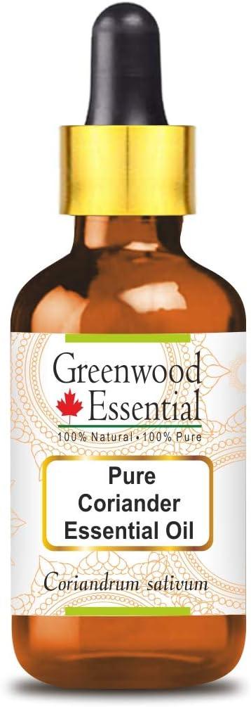 Greenwood Essential Pure Coriander Essential Oil (Coriandrum sat