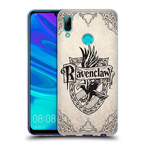 Head Case Designs Oficial Harry Potter Ravenclaw Parchment Sorcerer's Stone I Carcasa de Gel de Silicona Compatible con Huawei P Smart (2019)