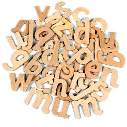 Wooden Alphabet Letters Amazoncouk