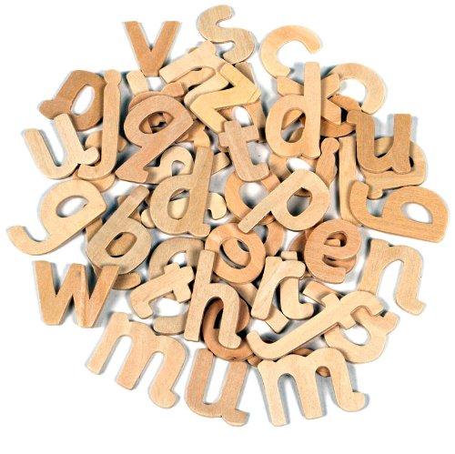Creation Station Kleinbuchstaben aus Holz