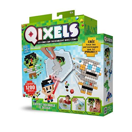 Qixels - Kit Design Recharges - Asmokids - Loisirs créatifs - Jeu Garçons