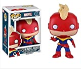Pop! Marvel Captain Marvel Masked #154 Vinyl Bobble-Head