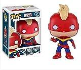 Funko Pop. Marvel Captain Marvel Masked # 154Vinilo de Bobble Head...