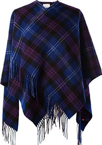 I Luv Ltd Ladies Lambswool Cape in Heritage Of Scotland Tartan