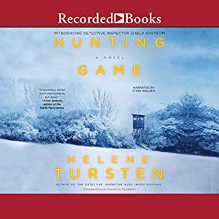 Hunting Game                   By:                                                                                                                                 Helene Tursten,                                                                                        Paul Norlen - translator                               Narrated by:                                                                                                                                 Stina Nielsen                      Length: 7 hrs and 35 mins     8 ratings     Overall 3.0