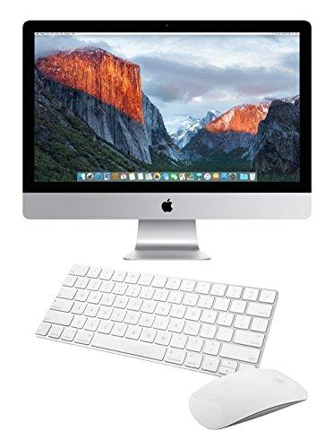 apple all in one computers Apple iMac MK462LL/A 27-Inch Retina 5K Desktop (3.2 GHz Intel Core i5, 8GB DDR3, 1TB, Mac OS X), Silver ()(Renewed)