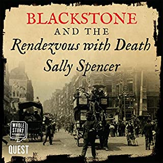 Blackstone and the Rendezvous with Death audiobook cover art
