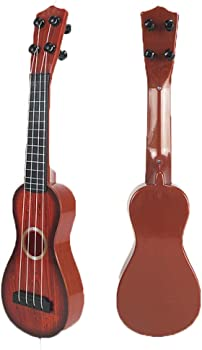 Icerom Plastic Mini Guitar Musical Instrument Toys