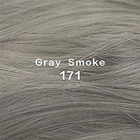 26インチロングキンキーヘアウィッグ耐熱合成ウィッグ女性用ミドルヘアパーツ付きナチュラルフェイクヘア,F