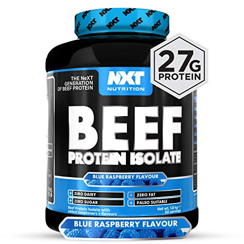 NXT Nutrition Beef Protein Isolate 1.8kg - Blue Raspberry