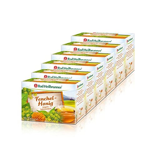 Bad Heilbrunner Fenchel-Honig 6er Pack