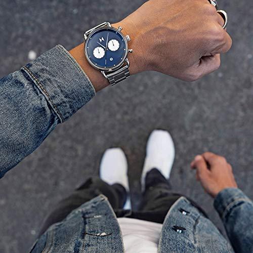 MVMT Blacktop   47 MM Men's Analog Watch   Astro Blue