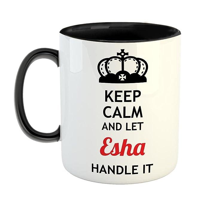 FurnishFantasy Keep Calm and Let Esha Handle It