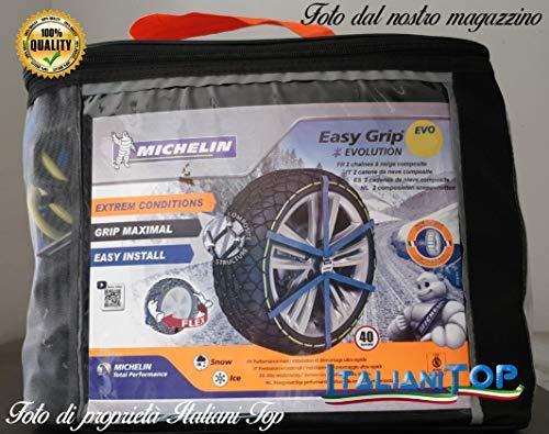 Desconocido Cadenas de Nieve genéricas Michelin Easy Grip EVO 11 (Unidades) 15
