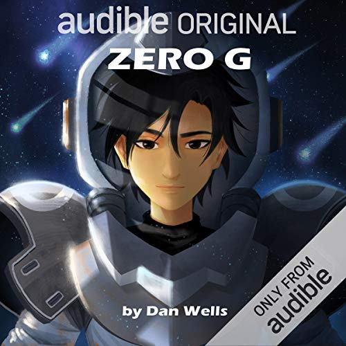 Zero G audiobook cover art