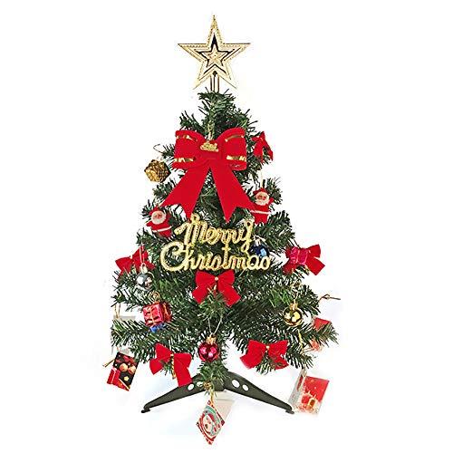GX&XD ARBOL DE Navidad Mini Árbol De Navidad, Artificial Árbol De Navidad Pequeño Escritorio Arbol De Decoración De Vacaciones para El Hogar Oficina Shopping Bar Ornamento De Mesa-a 60cm(23.6inch)