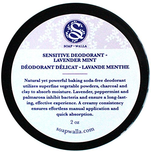 Sensitive Deodorant - Lavender Mint - SOAPWALLA