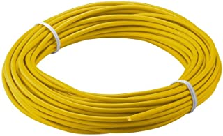 Goobay 55034 Insulated Copper Wire, Yellow, 2.5 mm Diameter, 10 m Cable Length