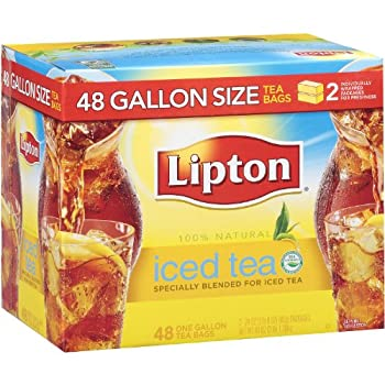 Lipton Iced Tea Gallon Size Tea Bags  48 ct   pack of 2